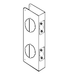 Don-Jo Double Bore Wrap Around / Door Reinforcer