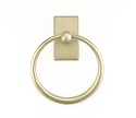 Emtek Sandcast  Towel Ring