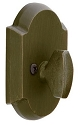 Emtek Sandcast Bronze #1 Style Deadbolt - Single Sided