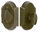 Emtek Sandcast Bronze #1 Style Single Cylinder Deadbolt
