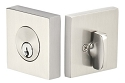 Emtek Square Style Single Cylinder Deadbolt