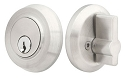 Emtek Round Stainless Steel Single Cylinder Deadbolt