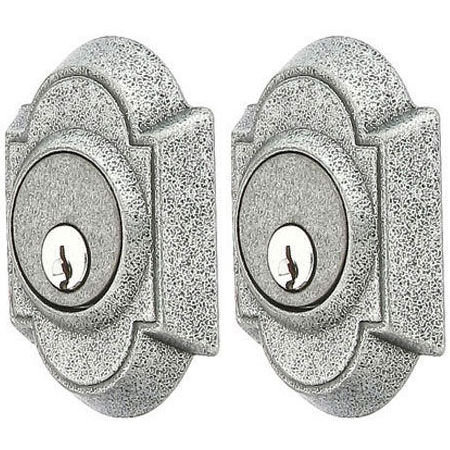 Emtek Wrought Steel Style #1 Double Cylinder Deadbolt