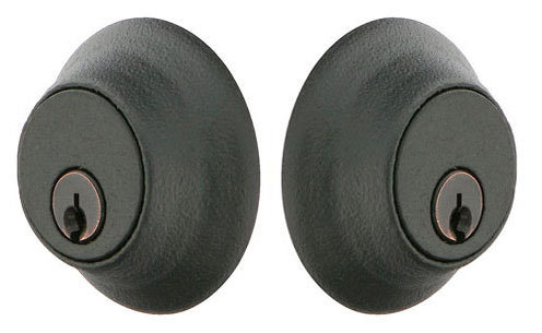 Emtek Wrought Steel Style #2 Double Cylinder Deadbolt