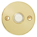 Emtek Brass Disk Door Bell Cover