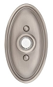 Emtek Brass Oval Door Bell Cover