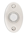 Emtek Brass Small Oval Door Bell Cover