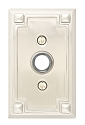 Emtek Brass Arts & Crafts Door Bell Cover