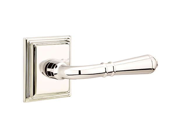 Emtek Turino Lever With Wilshire Rosette Direct Door