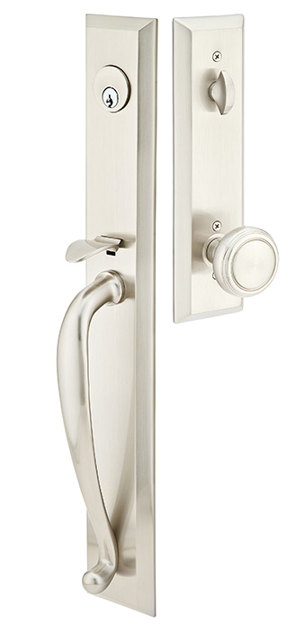 Emtek Jefferson Entrance Handleset