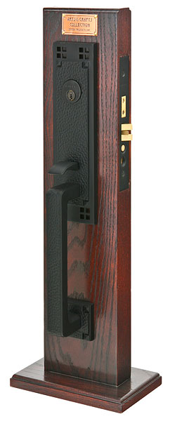 Emtek Craftsman Mortise Entrance Handleset