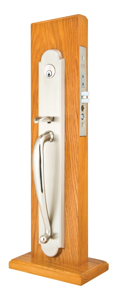 Emtek Albany Full Length Mortise Entrance Handleset