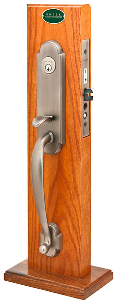 Emtek Charleston Mortise Entrance Handleset