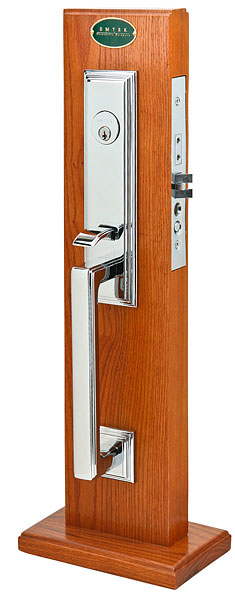 Emtek Manhattan Mortise Entrance Handleset