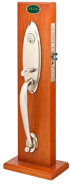 Emtek Memphis Mortise Entrance Handleset