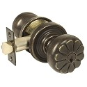 Emtek Lost Wax Keyed Petal Door Knob