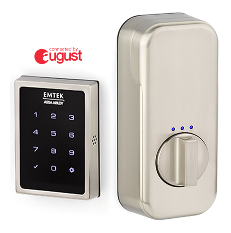 Emtek Empowered August Connected Smart Keyless Deadbolt