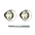 Emtek Georgetown Knobs with Threaded Spindle