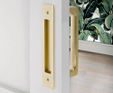 Emtek Modern Rectangular Flush Pull For 8 Inch Door Pull