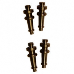 Steeple Tip Sets for Emtek Solid Brass 4 Inch Door Hinges