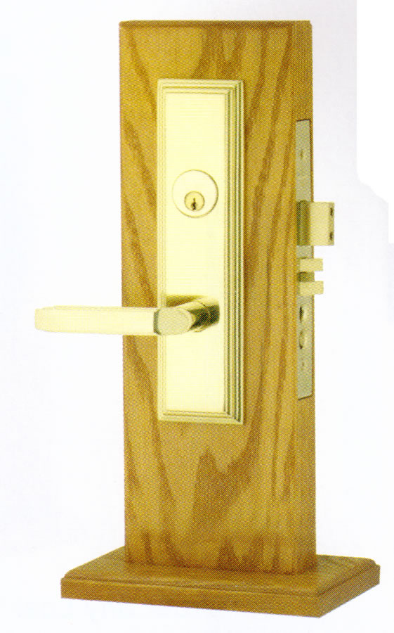 Emtek Manhattan Mortise Sideplate Locks