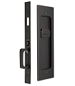 Emtek Modern Rectangular Pocket Door Mortise Lock