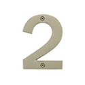 Emtek 6 Inch Bronze House Numbers