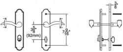 Keyed Cylinder Configuration