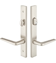 Emtek Configuration 3 Modern Multi Point Lock 1 1/2 x11 Inch - Stainless Steel Trim Only