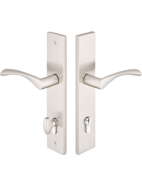 Emtek Configuration 5 2x10u0026quot; Modern Multipoint Lock Trim