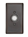 Emtek Brass Rectangular Door Bell Cover