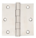 Emtek 3.5 Inch Stainless Steel Residential Duty Door Hinges with Square Corners (pair)