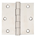 Emtek 3.5 Inch Stainless Steel Heavy Duty Door Hinges with Square Corners (pair)