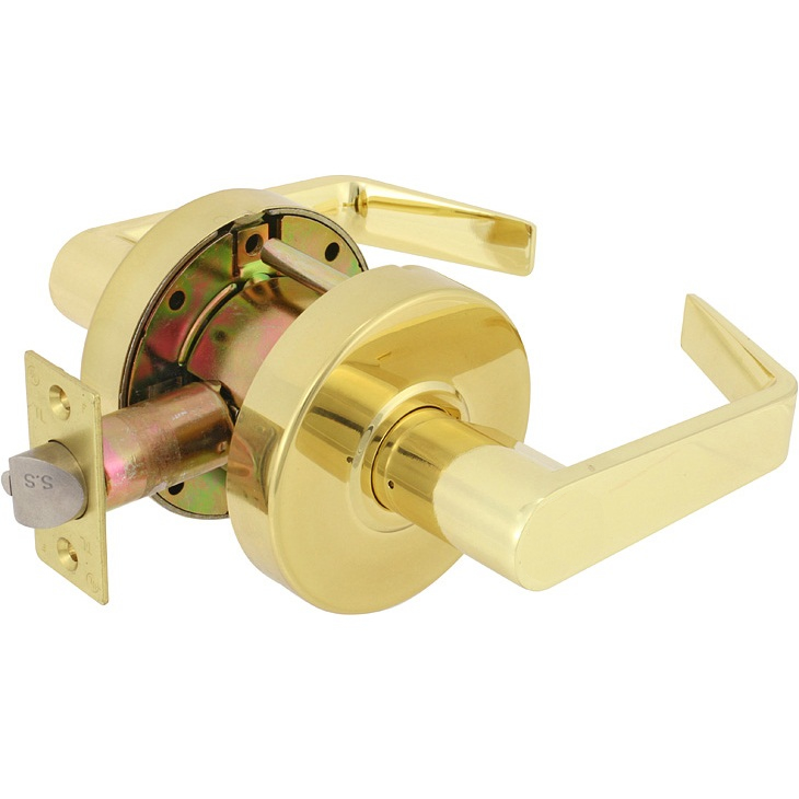 EZSet E Series CT Lever Grade II Passage Function Commercial Lockset