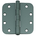 PHG 4 Inch Commercial Grade Plain Bearing Hinge with 5/8 Inch Radius Corners (each)