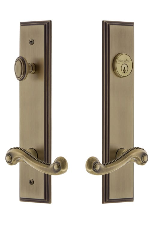 Grandeur Carre Tall Plate Entry Set