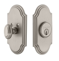 Grandeur Arc Deadbolt - Single Cylinder