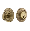 Grandeur Circulaire Deadbolt - Single Cylinder