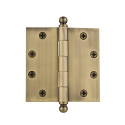 Grandeur 4.5 inch Ball Tip Hinge with Square Corners (Heavy Duty)