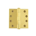 Grandeur 4 inch Button Tip Hinge with Square Corners  (Heavy Duty)
