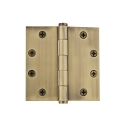 Grandeur 4.5 inch Button Tip Hinge with Square Corners (Heavy Duty)