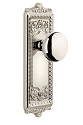 Grandeur Windsor Plate with Fifth Avenue Knob