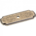 Hardware Resources 2-13/16 Inch Knob Backplate - Distressed Antique Brass