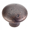 Hardware Resources Belcastel 2 Cabinet Knob 1-1/4 Inch - Distressed Oil-Rubbed Bronze
