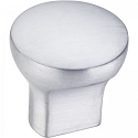 Hardware Resources Brenton Cabinet Knob in Brushed Chrome