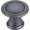 Hardware Resources Chesapeake Cabinet Knob in Gun Metal