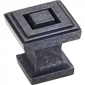Hardware Resources Delmar Cabinet Knob in Gun Metal
