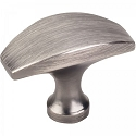 Hardware Resources Cosgrove 1-1/2 Inch Cabinet Knob - Brushed Pewter