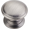 Hardware Resources Durham 1-1/4 Inch Cabinet Knob - Brushed Pewter