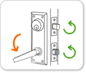 Interconnected Door Lock